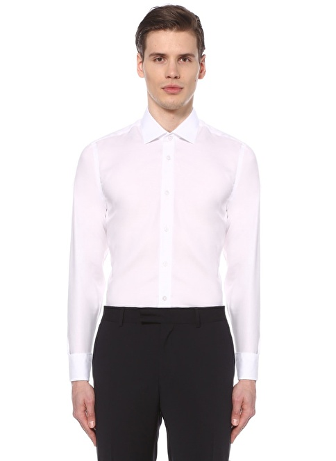 Beymen Club Non İron Gömlek Beyaz